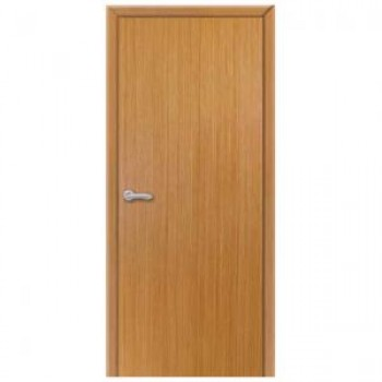 Полнотелая гладкая шпонированная дверь ГОСТ.