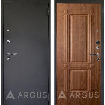 Сейф-дверь Аргус Люкс ПРО Черный шелк Триумф Дуб золотой