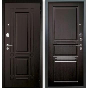 Сейф-дверь Аргус Люкс АС 2П Триумф Венге/Сабина Венге тисненый